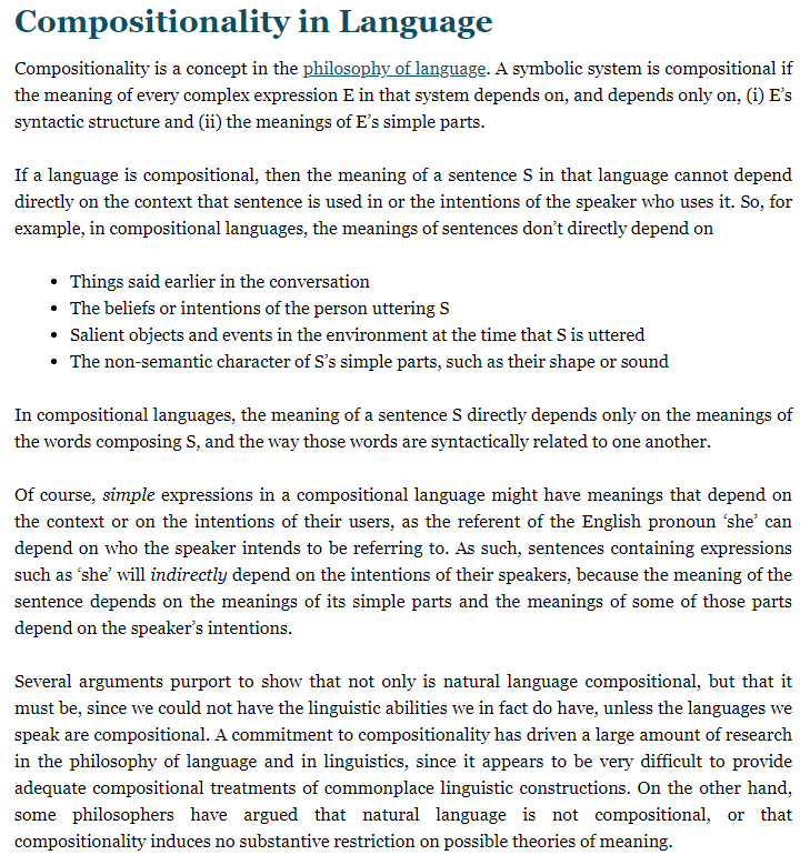 Internet Encyclopedia of Philosophy - Morpheme