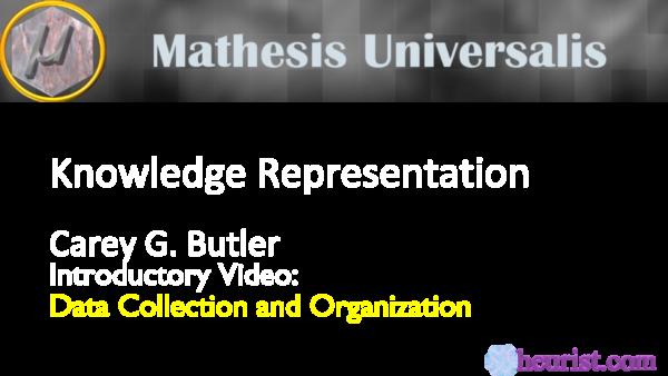 knowledge representation intro video